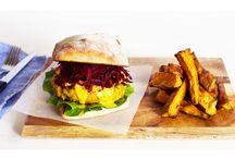 Food: Burgers, Wraps & Sandwiches