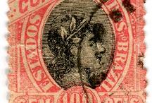 brazil brazilya stamp