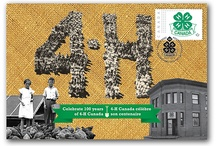 100th Anniversary  / Celebrating 100 years of 4-H in Canada!!!