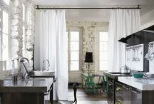 Curtains room dividers / Tende per dividere spazi interni