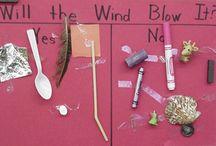 Preschool - windy day
