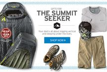 Father's Day: Summit Seeker / Gifts for the dad who's all about logging vertical and sleeping under the stars.
