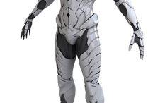 Sci-Fi - Armor Suits