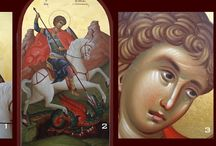 St.George.Icon scenes.