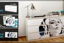 Furniture with photos