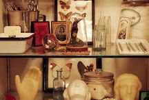 Collections / A board devoted to the arrangement and accrual of collected items over time.