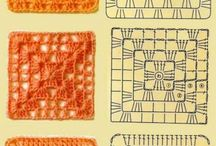 Quadrati a crochet