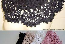 Lace neckles