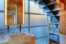Bathrooms / Bath Rooms featured in residences designed by Designs Northwest Architects.