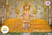 Dagdusheth Ganpati celebrates Mango Festival / Dagdusheth Ganpati celebrates Mango Festival every year on the occassion of Akshaya Tritiya. Desai Bandhu  donates 11,000 mangoes every year as on offering to God. The entire temple is beautifully decorated with Alphonso Mangoes
