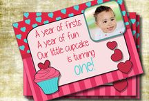 Girl first bday cupcake ideas / by Patricia Walters