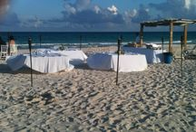 WEDDINGS  BEACH FRONT CASA CHANTY MEXICO / matrimoni sulla spiaggia wedding
