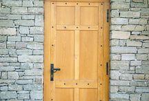 rusztikus ajtó