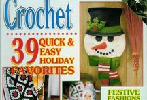 Crochet Magazines / by GLORIOUS VARIETY