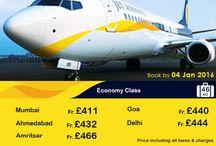 Jet airlines flight offer