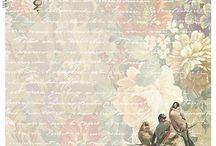 Backgrounds Vintage/Shabby