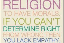 don't like religious things