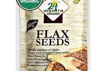 Buy Online 24 Mantra Organic Flax Seeds (Alsi Seeds) from USA