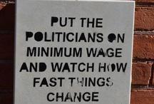 Politics & Religion (WARNING) / by Deborah Williams