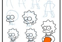 The Simpson Drawing Tutorial