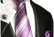 Krawatte royalblau