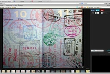 Graham Hughes - Passport stamps / Passport stamps from around the world by Graham Hughes, the first person to travel to every country without using a plane. Which do you like best?  http://ht.ly/kG2Ox  (Hughes, 33, has visited all 193 United Nations member states, as well as Taiwan, Vatican City, Kosovo, the Palestinian territory, and Western Sahara -- all by train, bus, taxi or ship, spending an average of 10 pounds per day, reports The Telegraph. Need proof? He has photographed every page of his passport as of June 2011. )