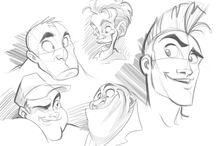 Personajes - Sketches, Ilustraciones
