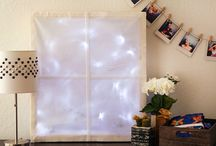 Holiday Window / Dreaming of a white Christmas? Maybe you've got a windowless wall that could use a little love? We've partnered up with Velcro Industries and The Home Depot ® to create a wintery illuminated window, perfect for bringing a little magic into your holiday decor. Read on to see how it's done.
