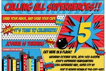 Super Hero Birthday Party / A board full of SUPER ideas for the little hero in your life.  Great ideas for throwing a super hero party. Cakes, cupcakes, printables, decorations and party games all to inspire your superhero party.