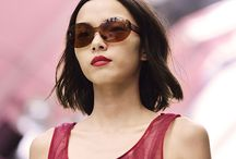 Burberry Butterfly Shades - Behind the Scenes / Go behind the scenes of the Burberry Prorsum Womenswear S/S15 show and set your sights on the Butterfly Sunglasses debuted on the runway.  / by Sunglass Hut