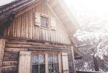 Außen aus Holz
