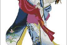Oriental and Asian motif ( motive asiatice şi orientale)