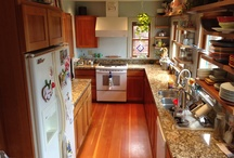 Kitchen ideas / We're not remodeling, we're resurfacing!  / by Deirdre Cross