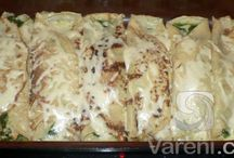 Recepty - pizza, langoše, slané, pečivo