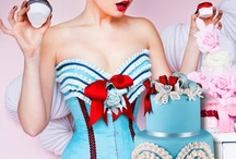 Fashion Cakes by Patricia Arribálzaga / Wedding cakes, fashion cakes