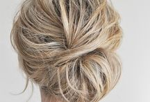 Updos/styling ideas / by Jennifer Hoxworth