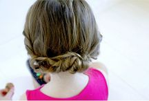 HAIRSTYLES AND DIY / Fun ways to style and cut your hair.  / by Rae Ann Kelly