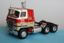 Plastic Model Truck Kits / Kits that I built as a kid or wish I had built