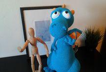 Amigurumi Blummy el Dragón de Havva / Amigurumi crochet