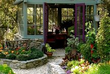 Green houses and sheds / by lacenlinen
