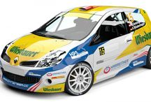 Hannes Danzinger - K. Wustenhagen (Renault Clio R3) / Design and wrap for season 2013. First seen at Rally Liepaja-Ventpils.