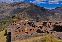 Templo del Sol Pisac / Se ubica en #Cusco y constituye una belleza arquitectónica de la cultura incaica, sumada con hermosos paisajes a los alrededore. ¿Lo conoces?