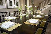 Staging Dining Rooms / Ideas for staging dining rooms