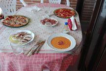 reporte fotográfico de una comida en casa