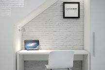 Desks For Small Spaces / Looking to create a home office or study but having trouble finding a desk to fit? Our made to measure desks ensure that you can utilise those dead spaces around the house. Why not have a desk under the stairs or use the space at the end of the hallway? With made to measure desks no space is too big or too small.