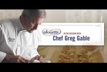 Cheesy Recipes on YouTube / Delicious how-to recipes from Chef Greg and other yummy YouTubers!