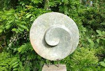 geometrical and modern sculpture