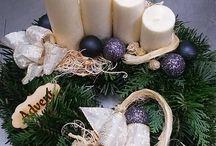 Advent - Karácsony / Ezeken a képeken az általam készített termékek láthatóak.
