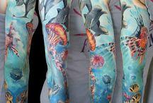 sea life tattoo inspiration
