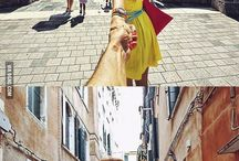 Let's travel together / Couple travel photos